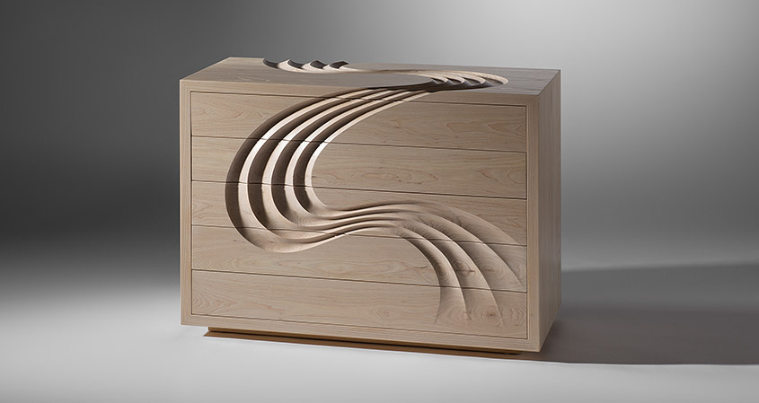 Cascade Chest of Drawers
